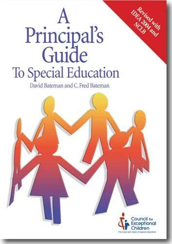 Principal's Guide To Special Education