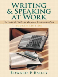 Writing And Speaking At Work