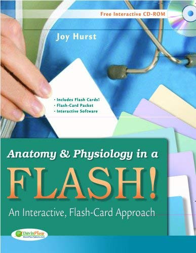 Anatomy And Physiology In A Flash! Book And Flash Cards