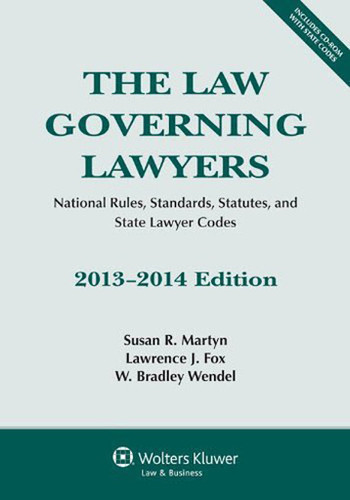 Law Governing Lawyers National Rules Standards Statutes And State Lawyer Codes