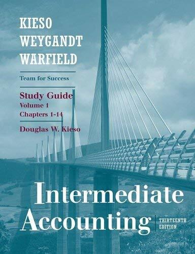 Intermediate Accounting Chapters 1-14