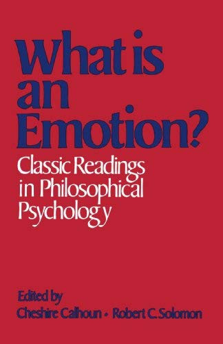 What Is An Emotion?