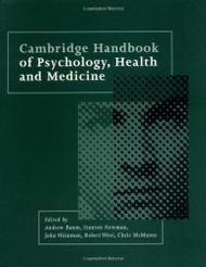Cambridge Handbook Of Psychology Health And Medicine