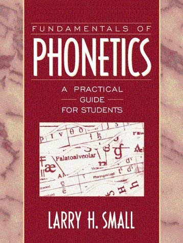 Fundamentals Of Phonetics