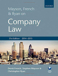 Mayson French And Ryan On Company Law