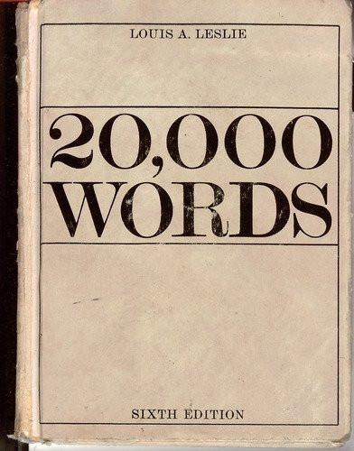 20 000 Words