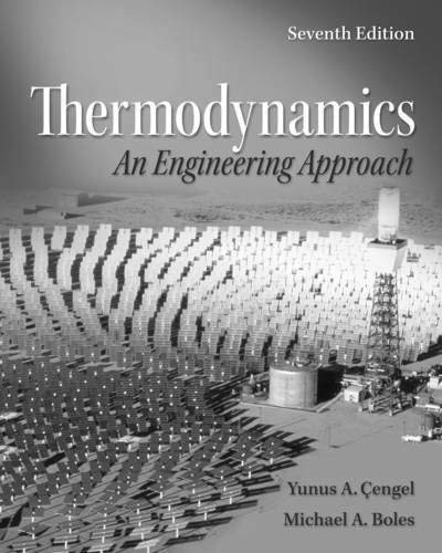 Property Tables Booklet For Thermodynamics