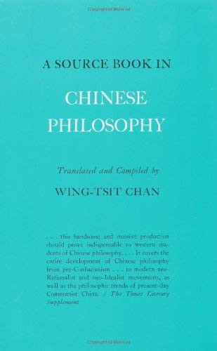 Source Book In Chinese Philosophy