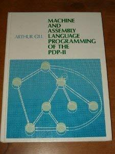 Machine And Assembly Language Programming Of The Pdp-11