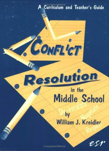Conflict Resolution In The Middle School