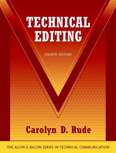 Technical Editing