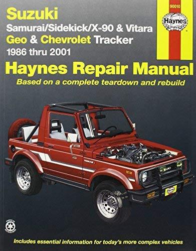 Suzuki Samurai/Sidekick/X-90 And Geo And Chevrolet Tracker