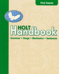 Handbook Student Edition First Course