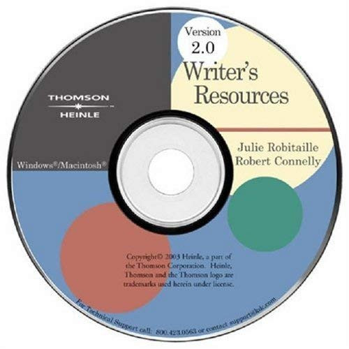 Writer's Resources Cd-Rom 2.0 Ilrn Version