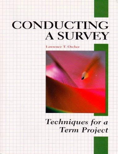 Conducting A Survey