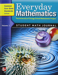 Everyday Mathematics Grade 5: Student Math Journal Common Core State Standards Edition volume 1
