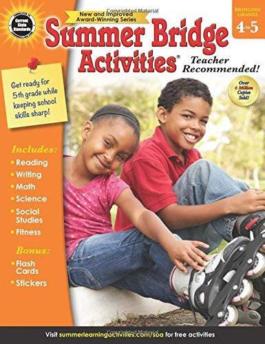 Summer Bridge Activities Grades 4 5