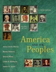 America And Its Peoples Volume 1