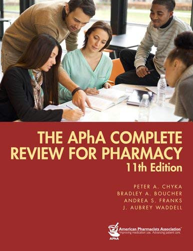 Apha Complete Review For Pharmacy
