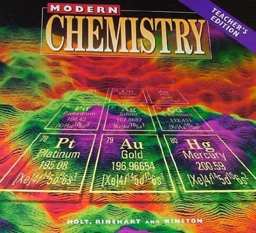 Modern Chemistry - Teacher's Edition