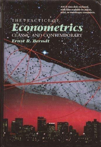 Practice Of Econometrics