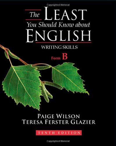 Least You Should Know About English