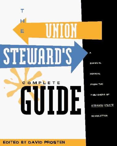 Union Steward's Complete Guide