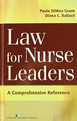 Law For Nurse Leaders