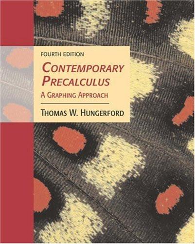 Contemporary Precalculus