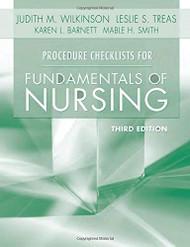 Procedure Checklists For Fundamentals Of Nursing