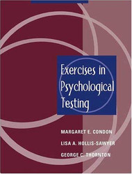 Exercises In Psychological Testing