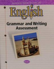 English Grammar And Writing Assessment Grade 3