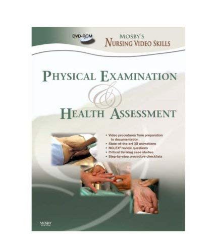 Mosby's Nursing Video Skills Physical Examination and Health Assessment