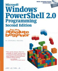 Windows Powershell Programming For The Absolute Beginner