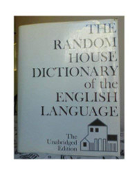 Random House Dictionary Of The English Language The Un