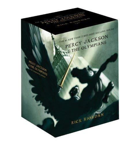 Percy Jackson Pbk 5-Book Boxed Set