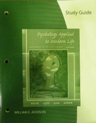Study Guide For Weiten's Psychology Applied To Modern Life