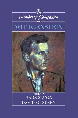 Cambridge Companion To Wittgenstein