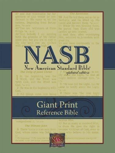 NASB Giant-Print Reference Bible