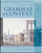 Grammar In Context Book 1