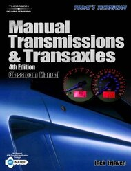Today's Technician Manual Transmissions And Transaxles