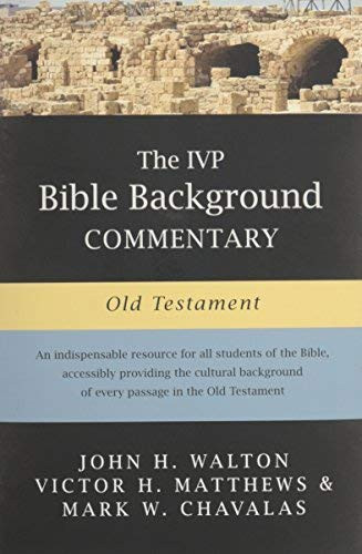 Ivp Bible Background Commentary