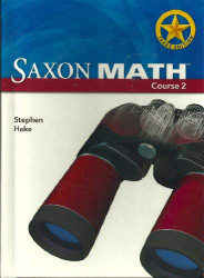 Saxon Math Course 2 Texas Edition