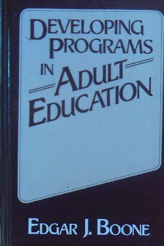 Developing Programs In Adult Education