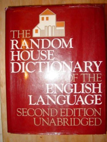Random House Dictionary of the English Language Unabridged