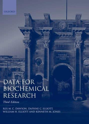 Data for Biochemical Research