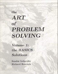 Art Of Problem Solving Volume 1
