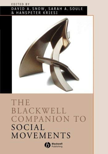 Blackwell Companion To Social Movements