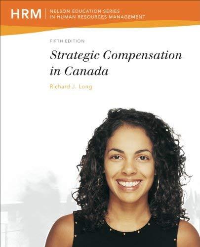 Strategic Compensation In Canada