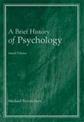 Brief History Of Psychology